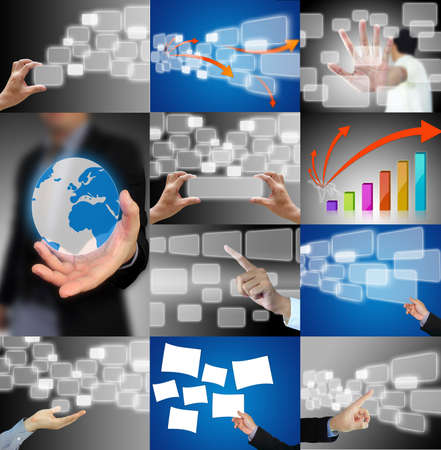 business hand collection Stock Photo - 10679755