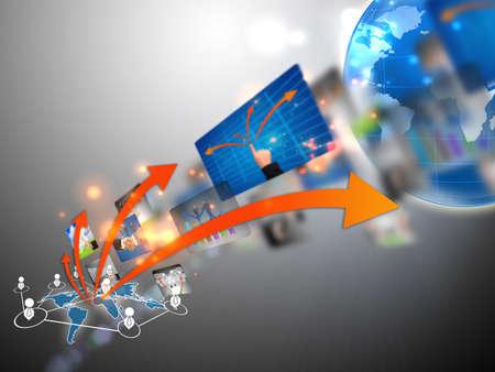global finance: business world