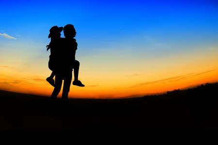 romantic Scene of love,valentines day photo