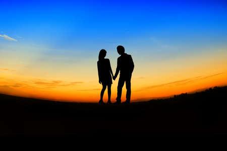 valentin: romantic Scene of love,valentines day