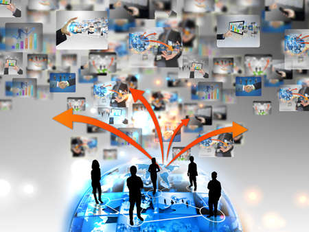 market share: Business team