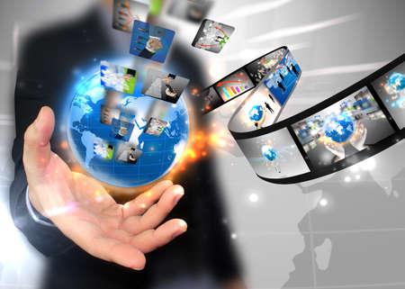 explotación de negocios del mundo empresarial