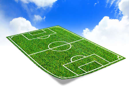 play ground: Soccer field  with artificial grass