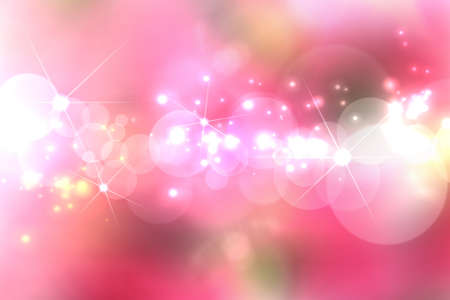 blink: Lights Blurry pattern on pink background  Stock Photo