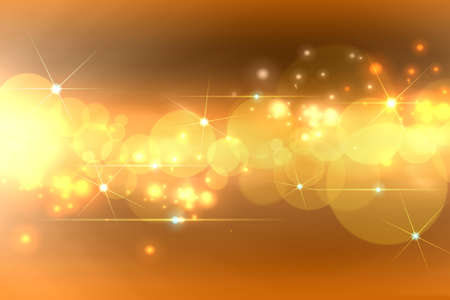 flash light: Abstract golden background
