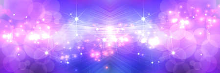 Light Purple Star abstract background photo