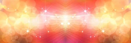 spot lights: stars background of orange