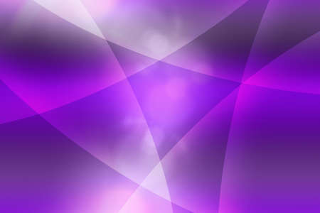 purple stars: purple curves abstract background Stock Photo