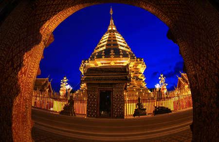 doi: Doi Suthep Chiang Mai, Thailand  Stock Photo