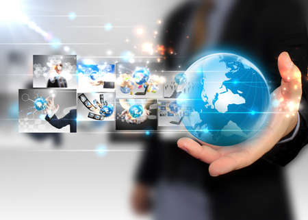 Zakenman bedrijf zakenwereld Stockfoto