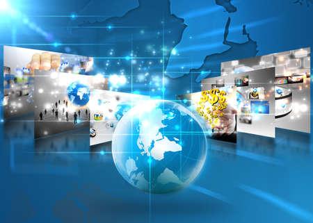 economia: mundo de los negocios