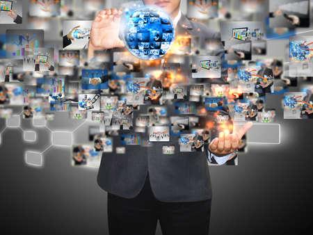 networking people: celebraci�n businessman mundo