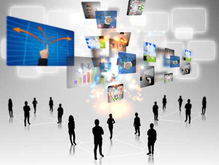 intelligent partnership: business teamwork