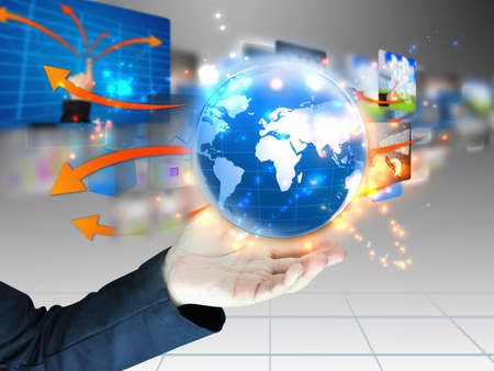 sozialarbeit: hand holding Business-Welt
