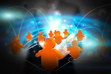 sociologia: Concepto de red social