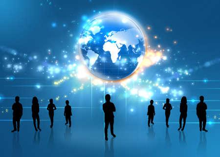 business leader: Business team