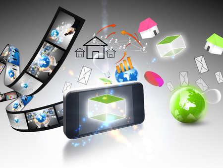 business communication Stock Photo - 21432425