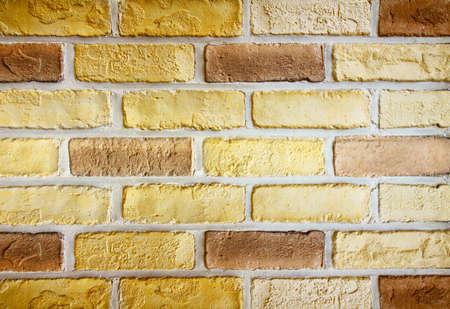 yellow brick texture  photo