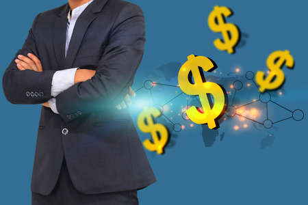 Business world concept. Stock Photo