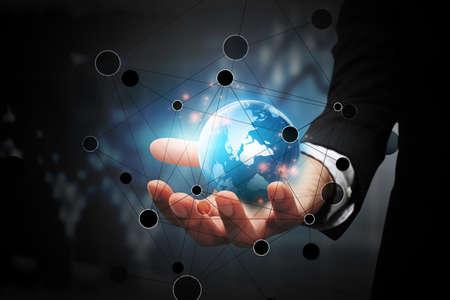 글로벌 비즈니스 연결.