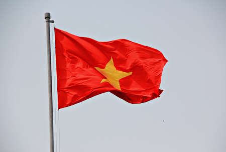 vietnam flag: Flag of Vietnam Stock Photo