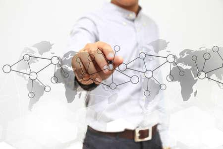 conexiones: Conexiones de red.