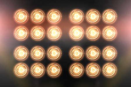 reflector: Floodlights Flash lights.Spotlights