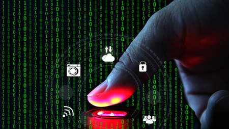 Fingerprint scanning technology