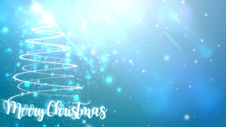 Christmas tree background. 版權商用圖片