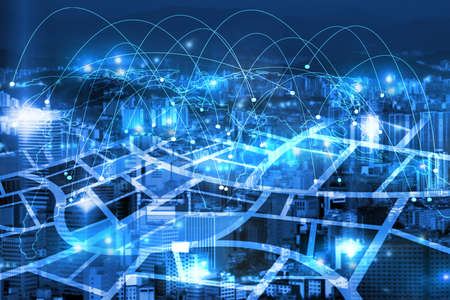 internet connecting in the cities
