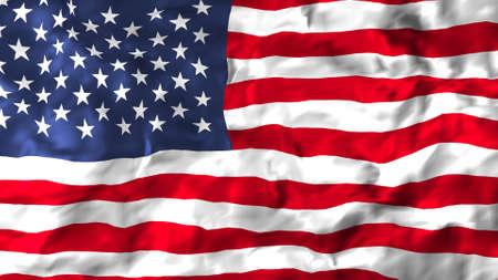 flag of the United States of America Фото со стока