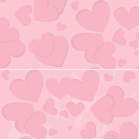Pink seamless pattern with hearts Stock Vector - 16461419