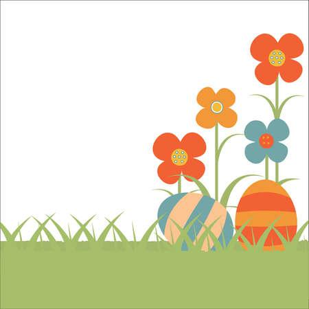 Blumenhintergrund f�r Ostern