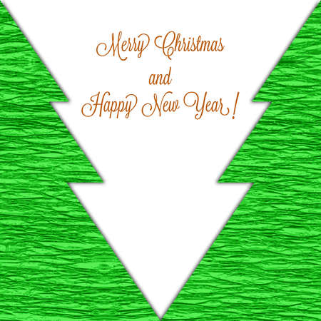 Weihnachten Hintergrund mit stilisierten B�umen
