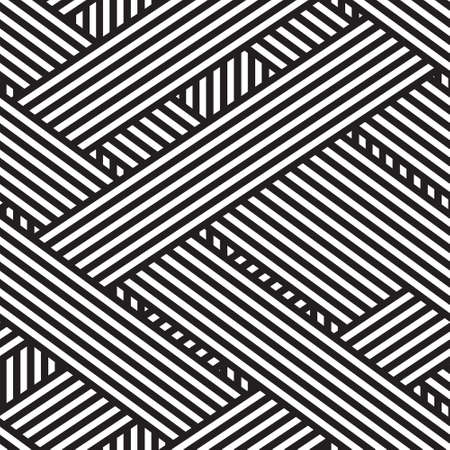 seamless abstract background, wallpaper, lines, black and white stripes