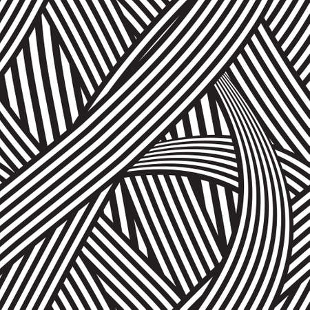 Seamless abstract geometric background Illustration