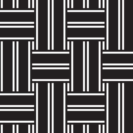 vector seamless geometrical background with black and white lines