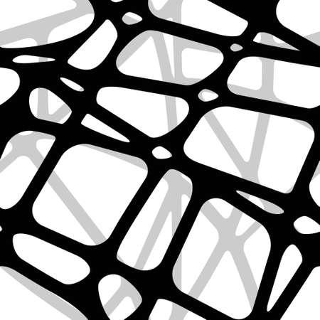 Seamless volumetric background from transparent black stripes merging