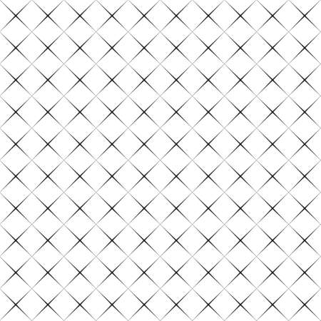Abstract black and white pattern of rhombuses, background