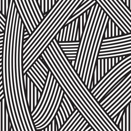 Fundo abstrato sem emenda, listras preto e branco