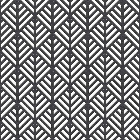 Abstract black and white pattern from squares and stripes