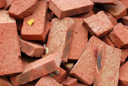 isolator: Firebricks Stock Photo