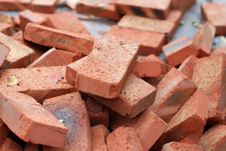 fire bricks: Firebricks Stock Photo