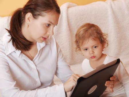 madre trabajadora: madre que trabaja con su hijo