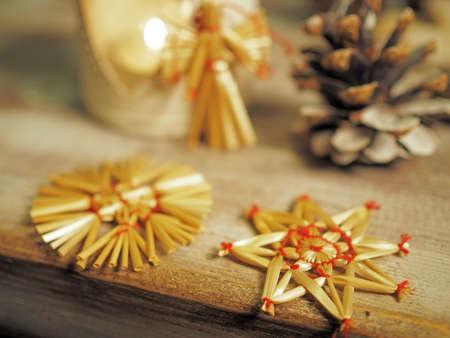 estrella de la vida: Bodegón de Navidad con la estrella