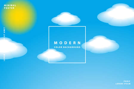 gradient background modern with colorful style gradient color Иллюстрация