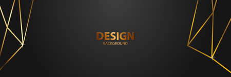 banner Abstract vector background board for text and message design modern