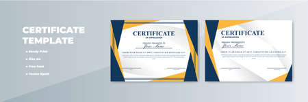 Creative Certificate of Appreciation Award Template