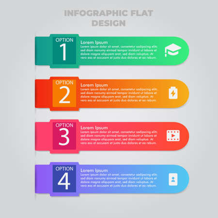 Business data visualization. Process chart. Abstract elements of graph, diagram with steps, options, parts or processes. Vector business template for presentation. Creative concept for infographic. Stock Photo