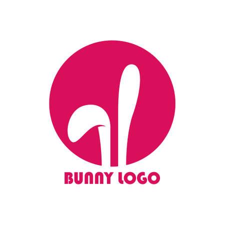 bunny logo modern concept logo design
